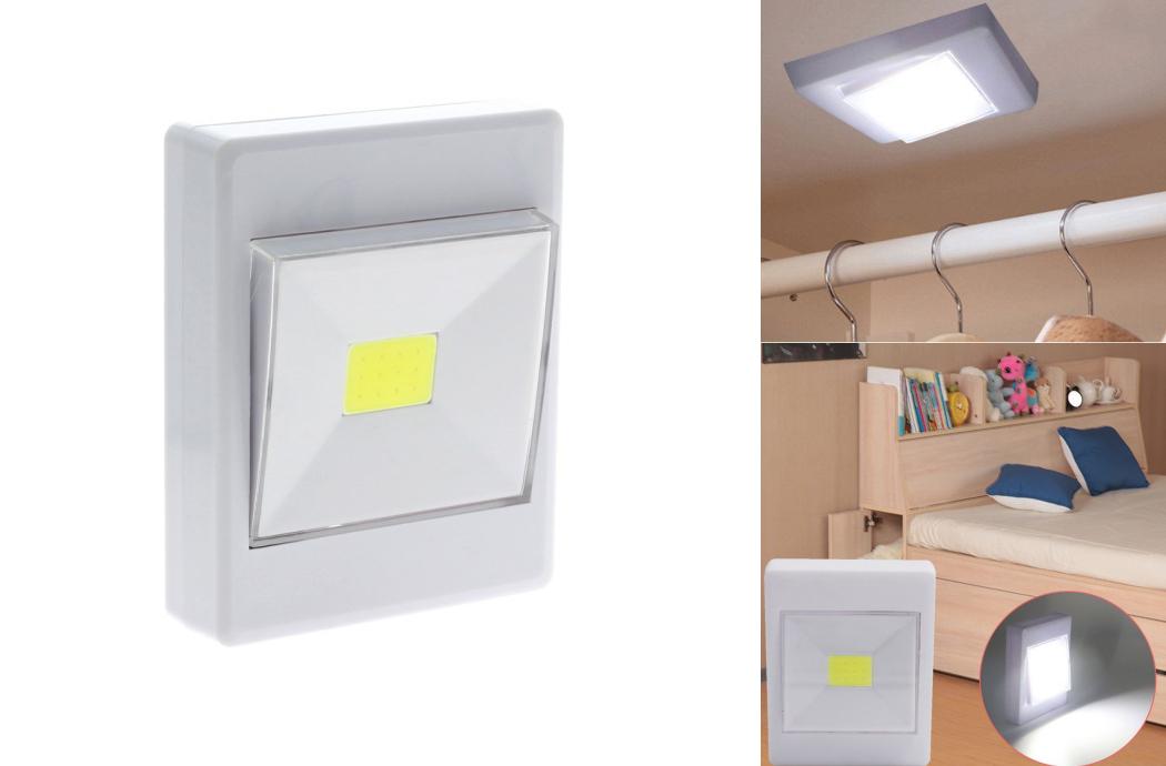 Pomocné prenosné LED svetlo COB 3W