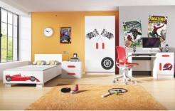 14ec9da9990b Detský nábytok SVEND v červenom prevedení ...