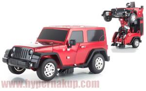 RC model Autobot JEEP red Strong Wall
