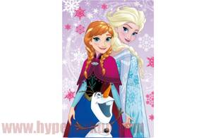 Detská fleece deka Disney Frozen Magic 100x150 cm